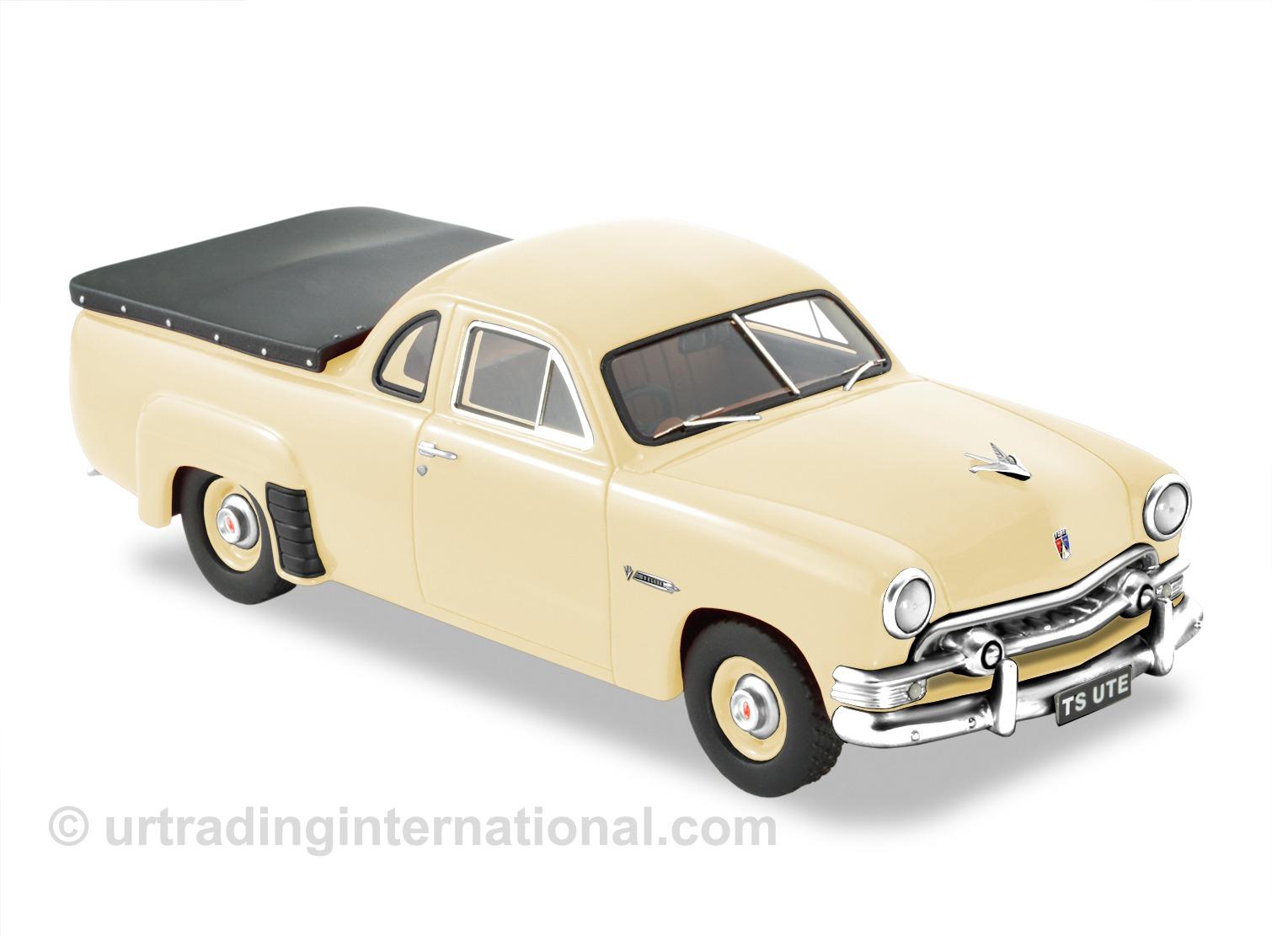 1951 Ford Custom Twin Spinner Ute – Ivory