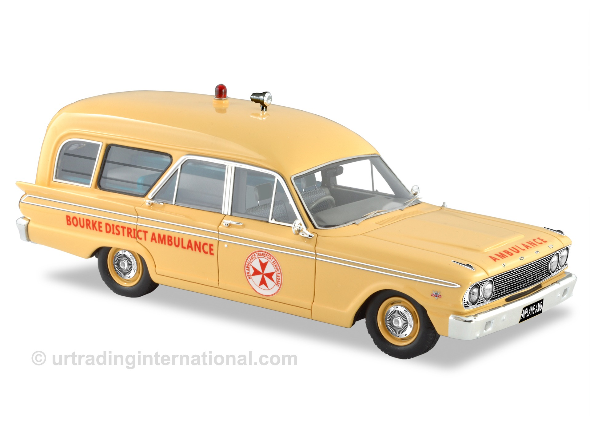1963 Ford Fairlane 500 Ambulance – Bourke District