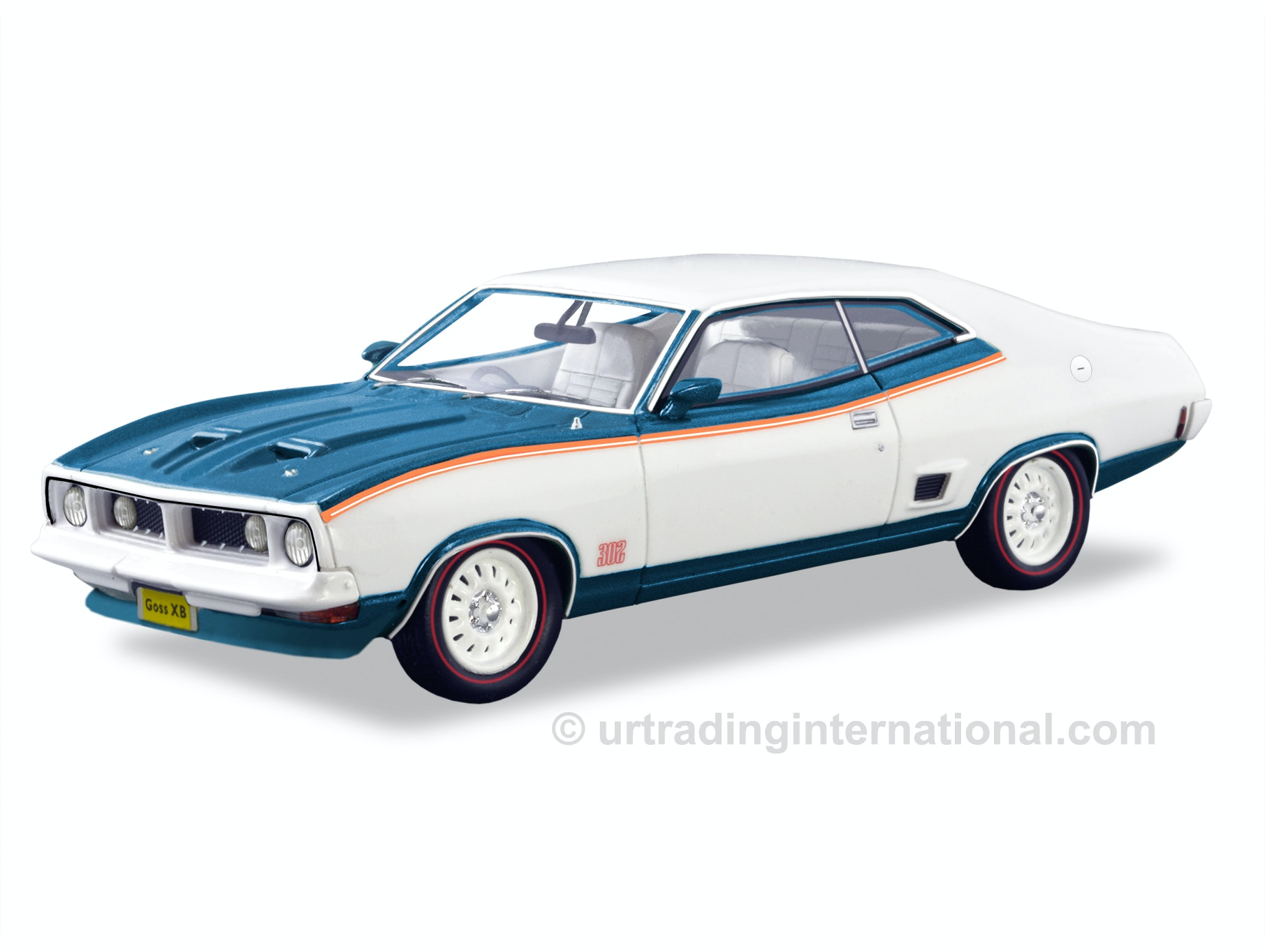 1975 Ford XB Coupe John Goss – White/Blue