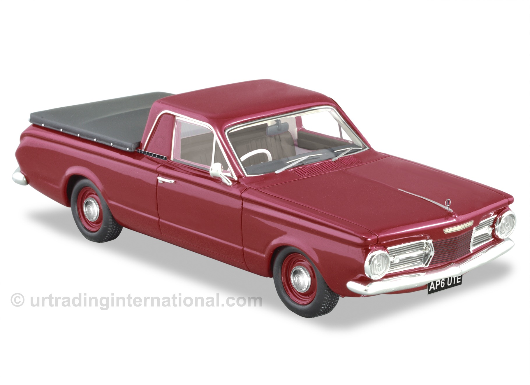 1965 Chrysler Valiant AP6 Ute – Red