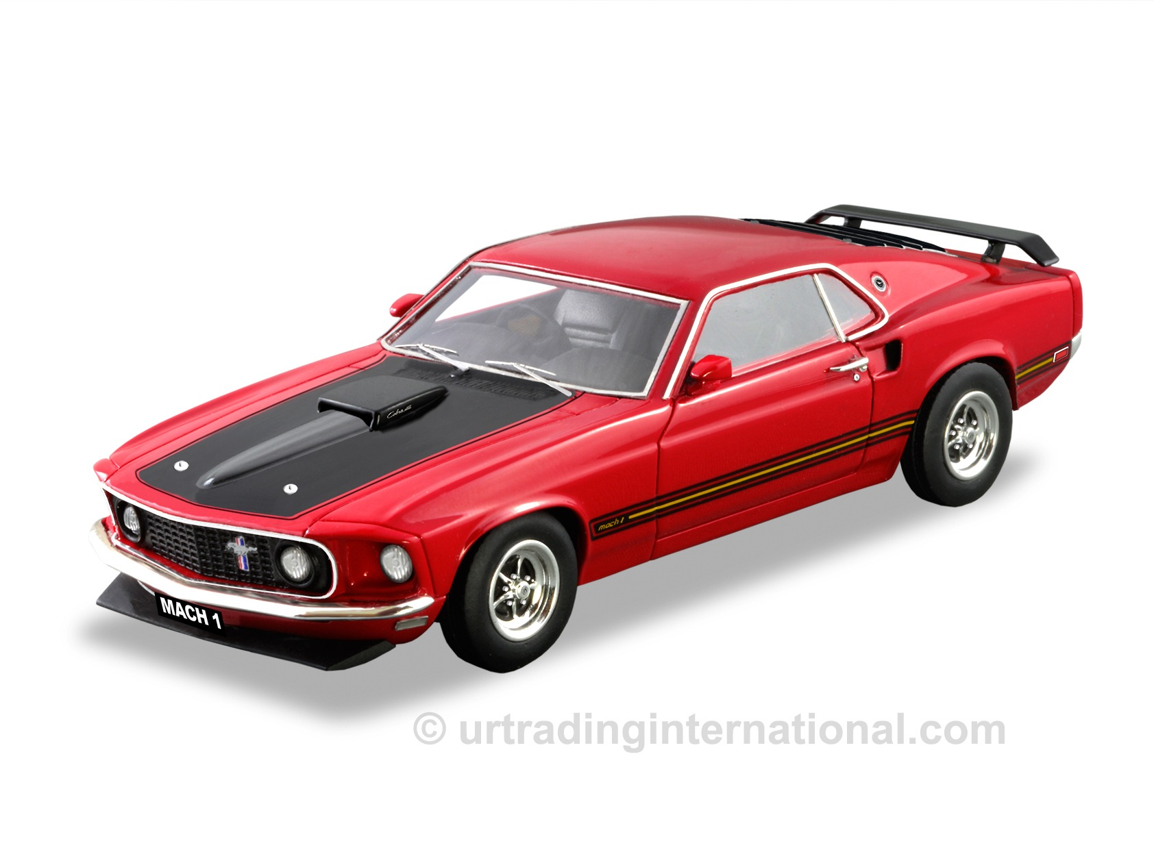 1969 Ford Mustang Mach 1 – Red