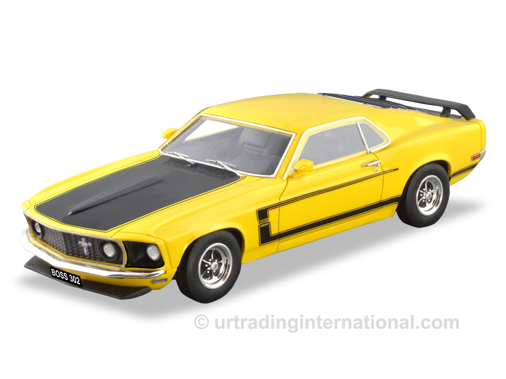 1969 Ford Mustang Boss 302 (LHD) – Yellow.