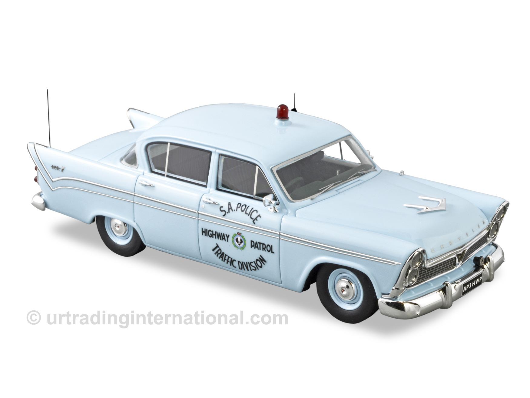 1961 Chrysler AP3 Royal Police Car