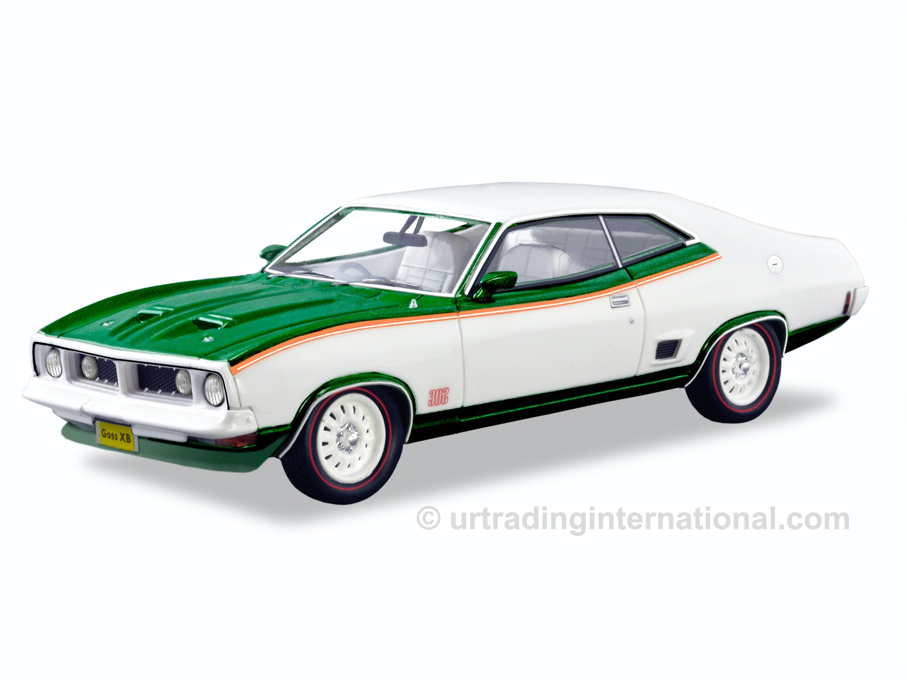 1975 Ford XB Coupe John Goss – White/Green