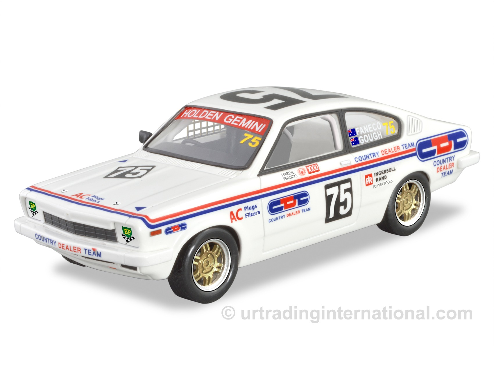 Gemini TD Coupe Racing Car – Country Dealer Team/White