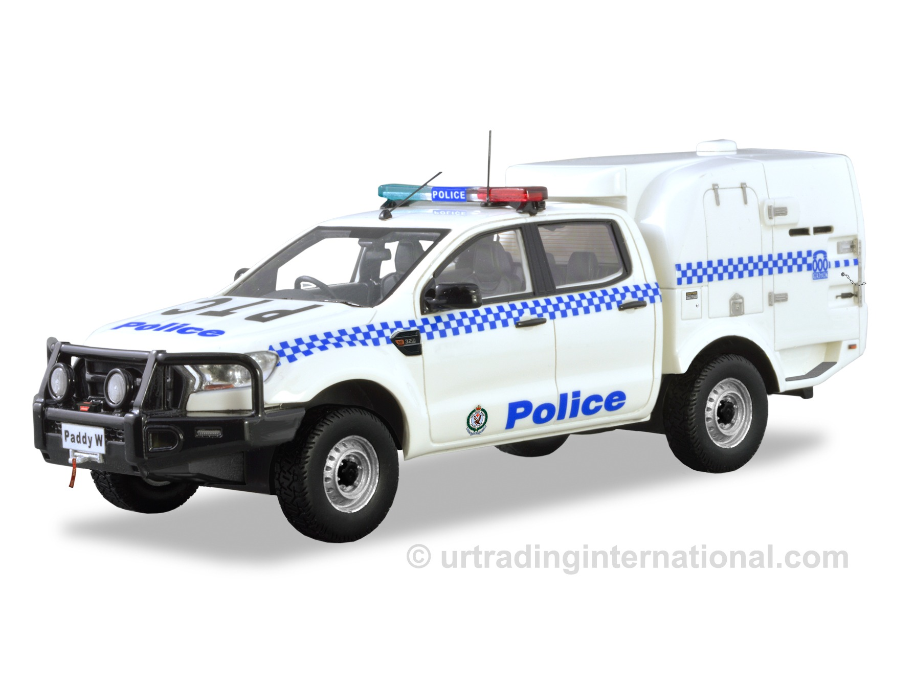 Ford Ranger Paddy Wagon – White