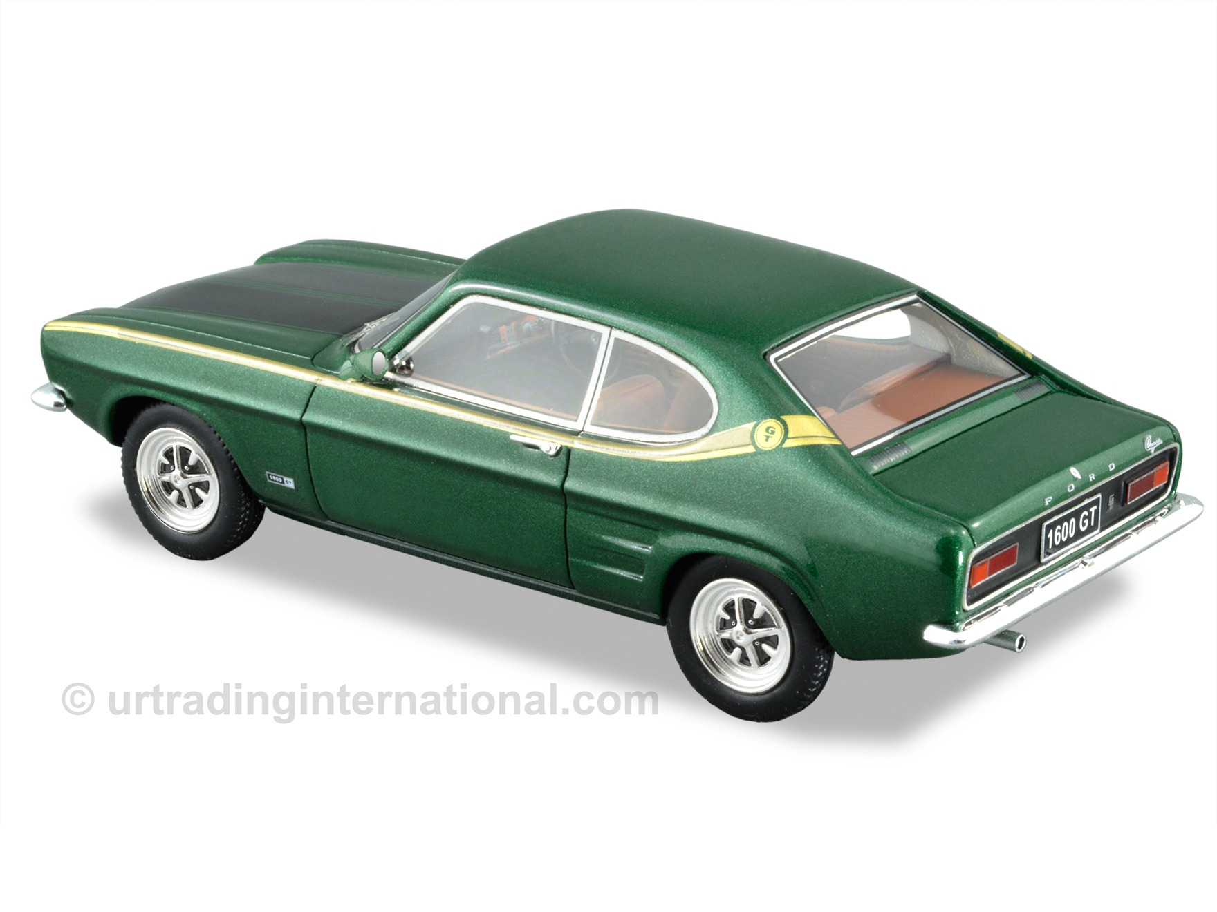 1969 Ford Capri 1600 GT –  Zircon Green / Gold Stripe