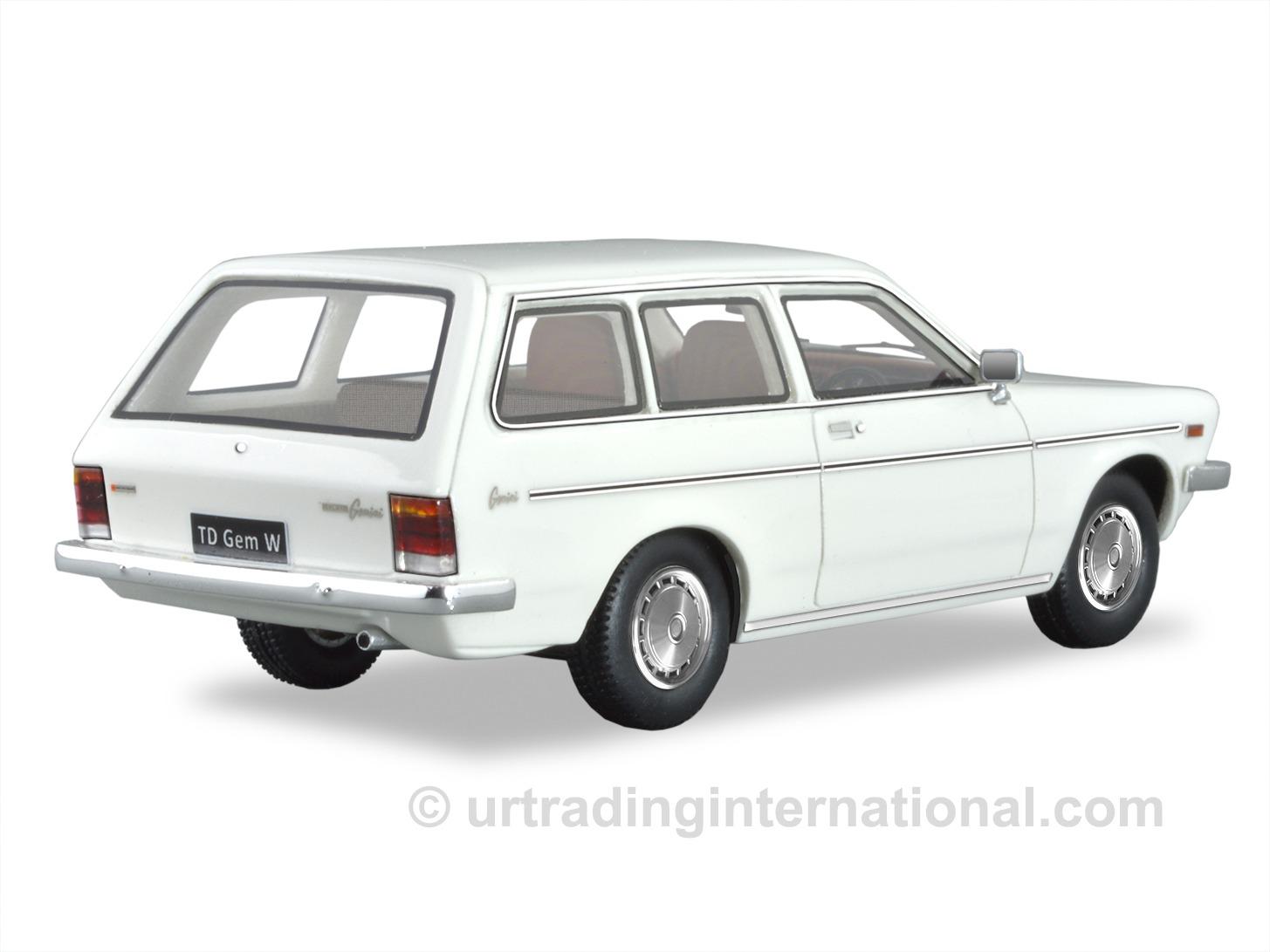 1979 TD Gemini Wagon – White