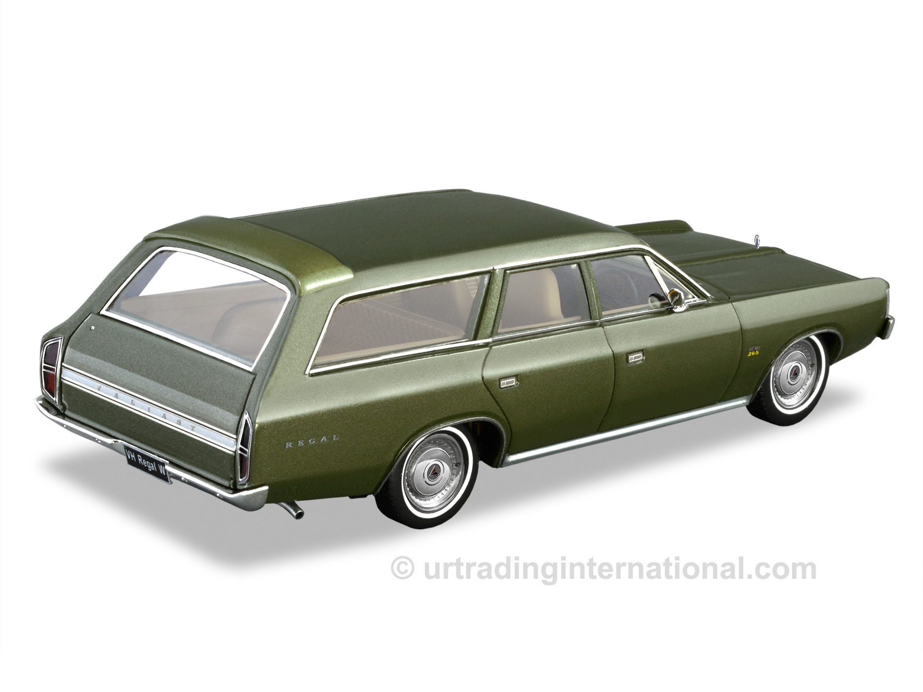 VH Regal Station Wagon – Deep Chartreuse (Metallic)