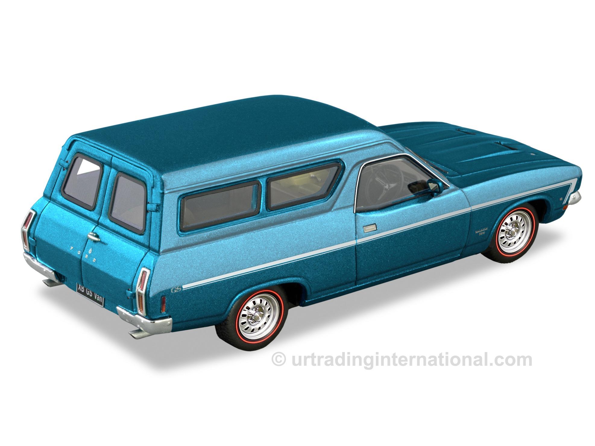 XB GS Panel Van –  Apollo Blue (Metallic)