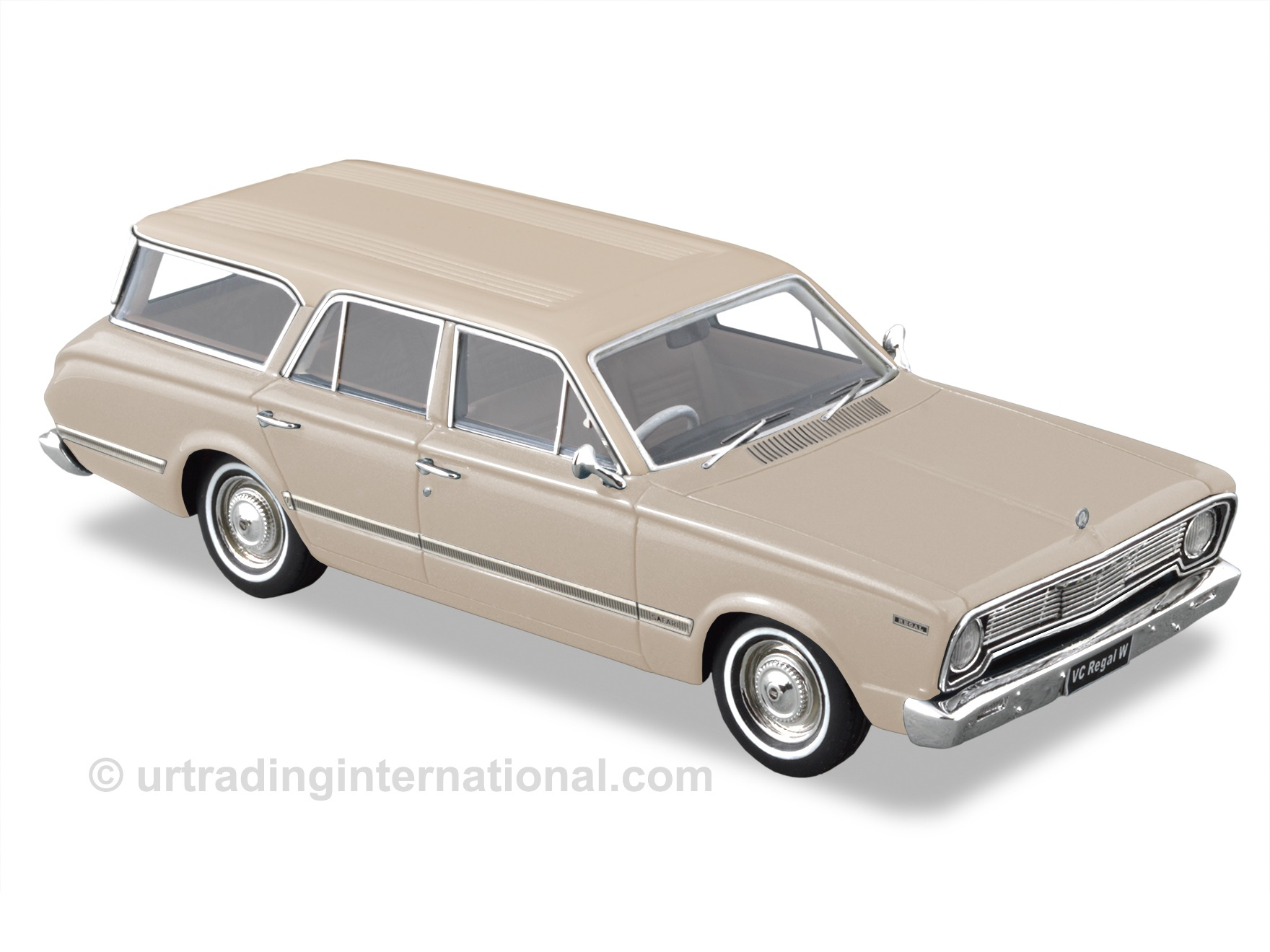 1967 VC Valiant Regal Safari Wagon – Alabaster