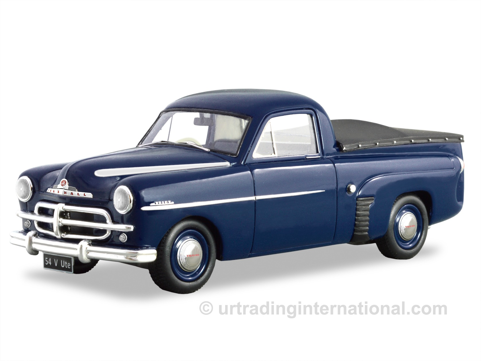 1953-54 Vauxhall Velox Ute – Dark Blue