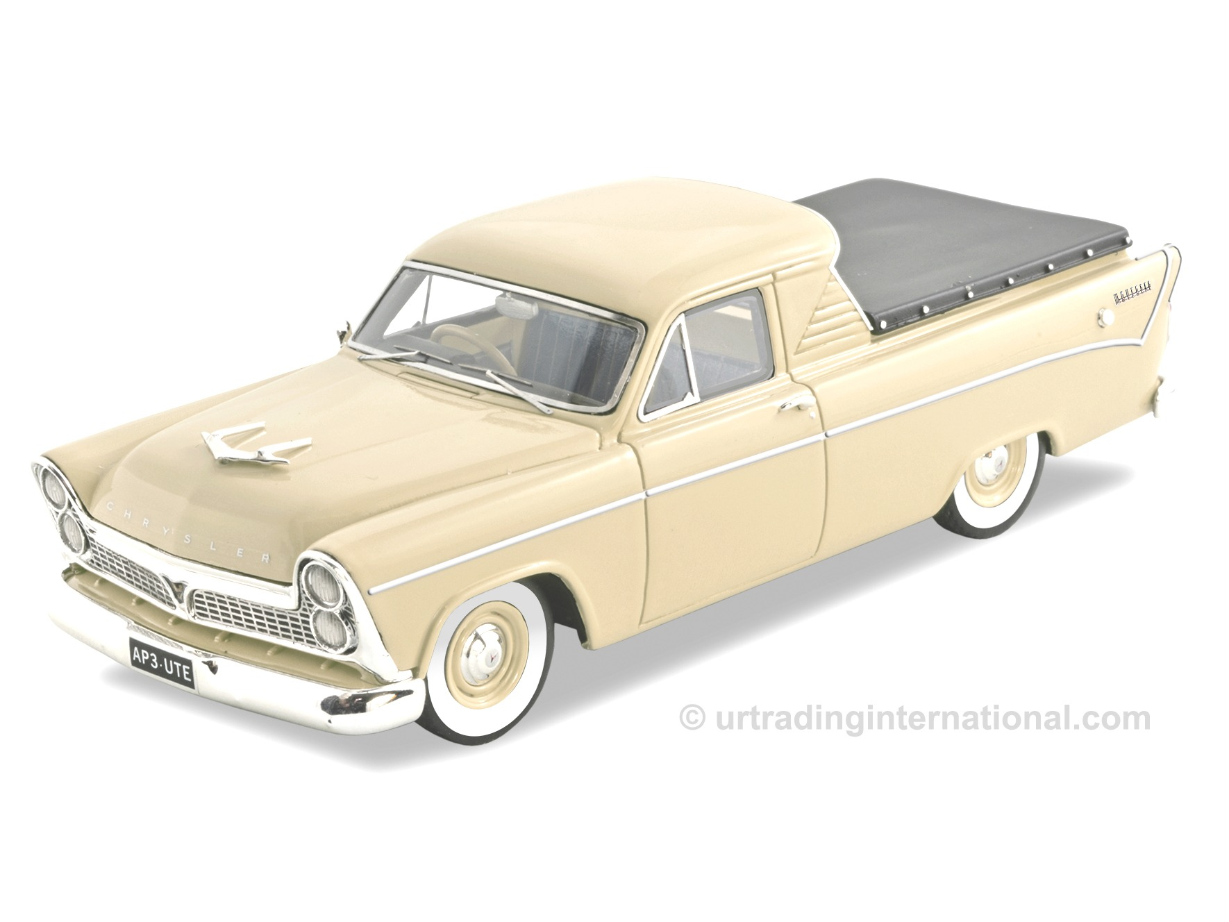 Chrysler Royal AP3 Wayfarer Ute – Cream