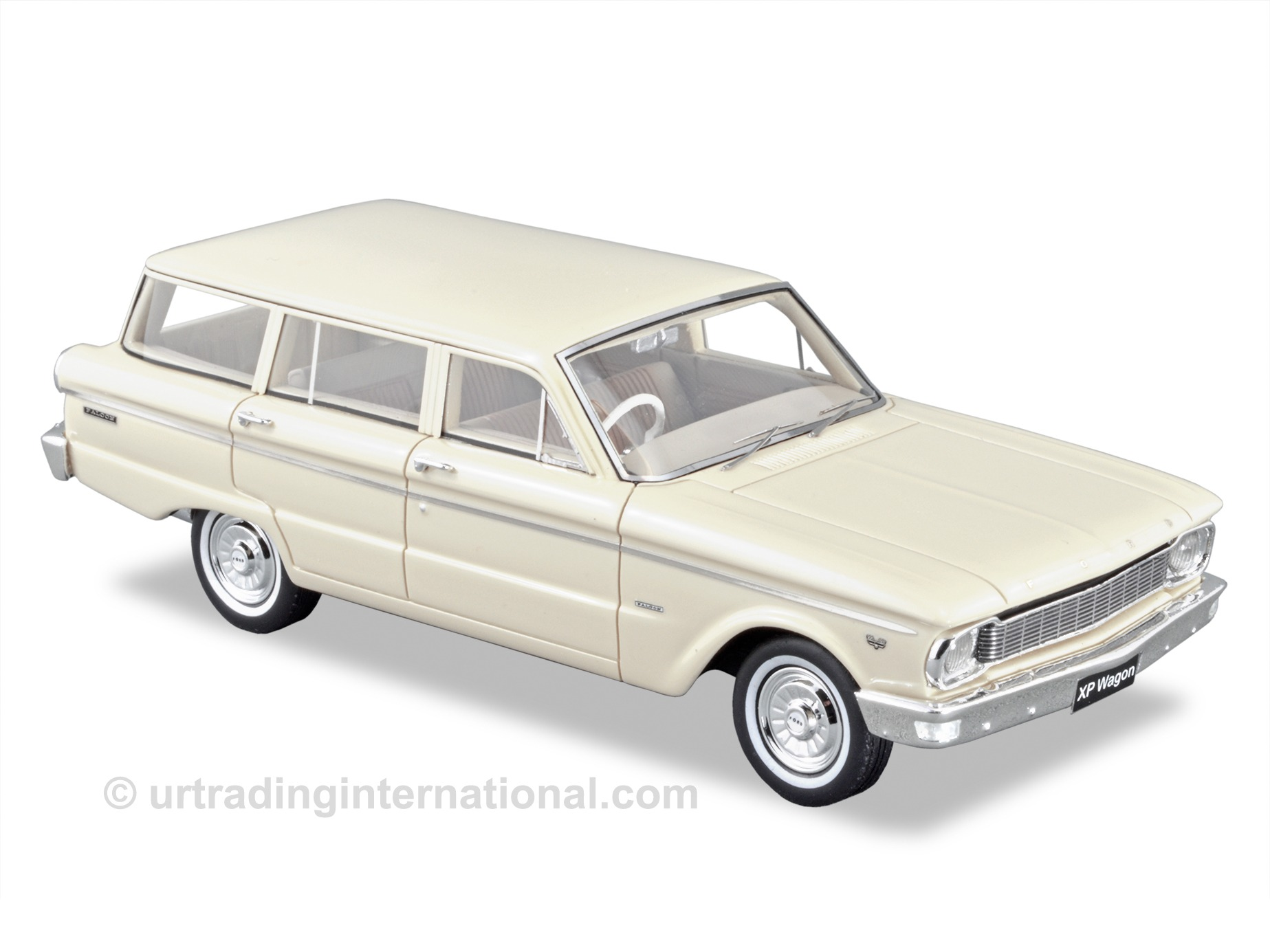 1965 Ford XP Falcon Deluxe Station Wagon – Arctic White