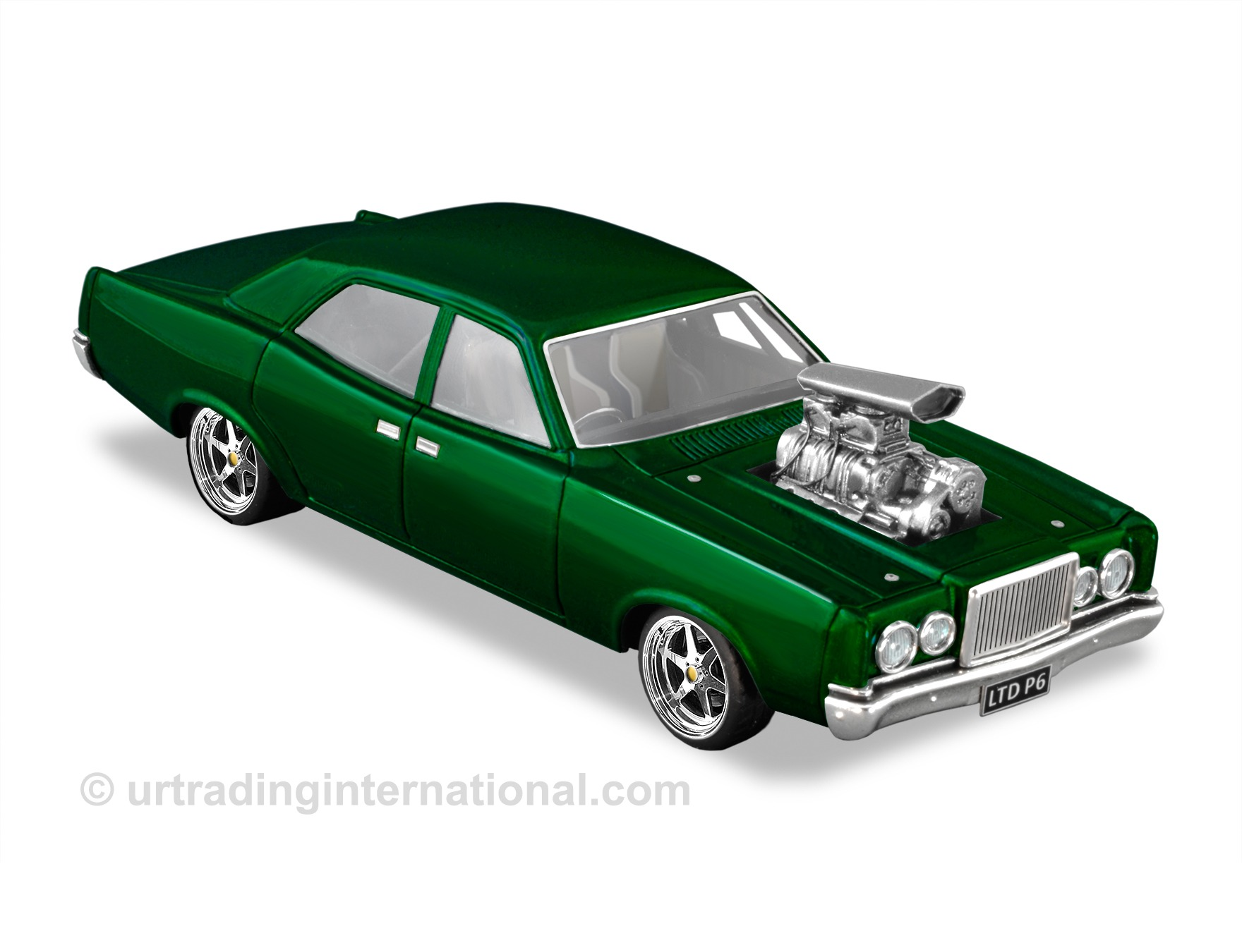 Customised 1978 Ford P6 LTD – Candy Apple Emerald Green