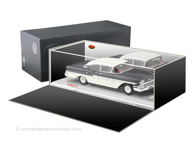 1958 Chevrolet Biscayne – Arctic White / Onyx Black