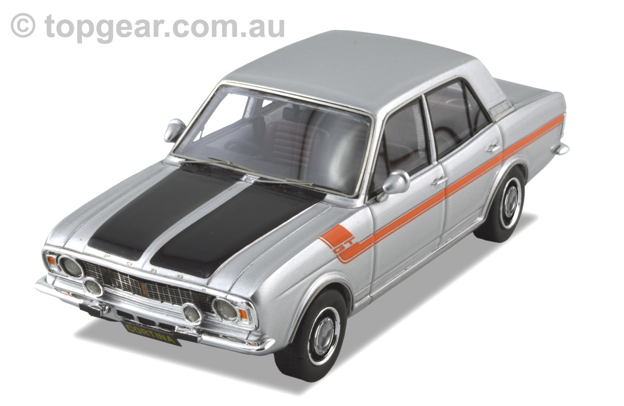 Ford Cortina GT MKII – Quick Silver