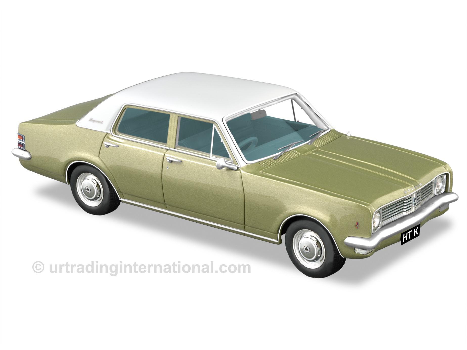 1970 HT Kingswood Sedan – Seamist Green