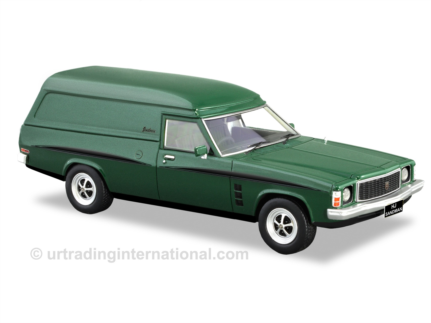 HJ Sandman Panel Van – Jade Green