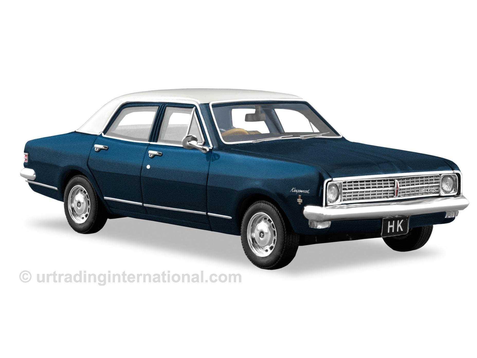HK Kingswood Sedan – Paragon Blue
