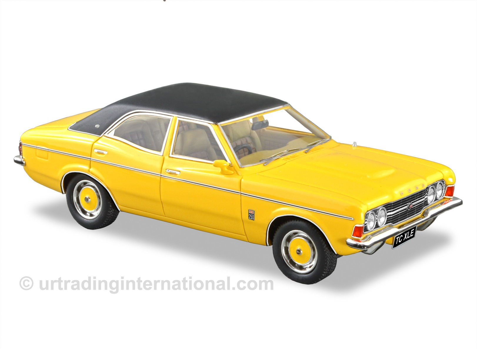 1972 Ford TC Cortina XLE – Yellow Blaze