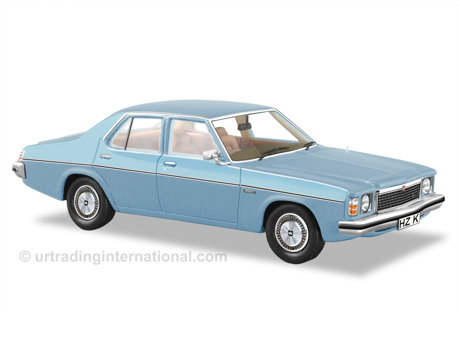 1977 HZ Kingswood SL Sedan  – Atlantis Blue