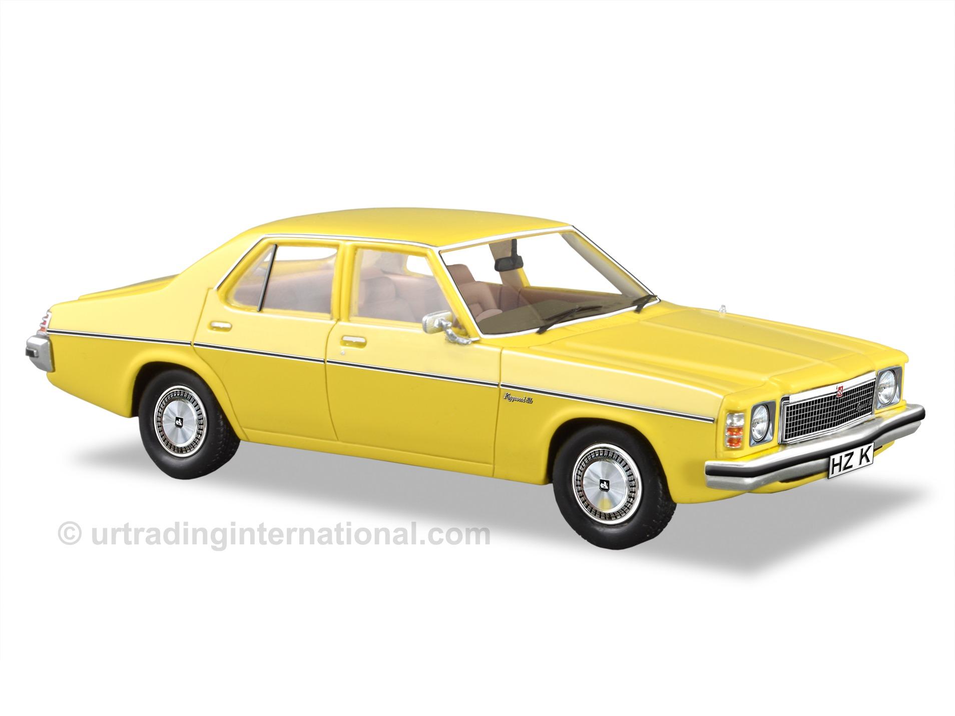 1977 HZ Kingswood SL Sedan  – Jasmine Yellow