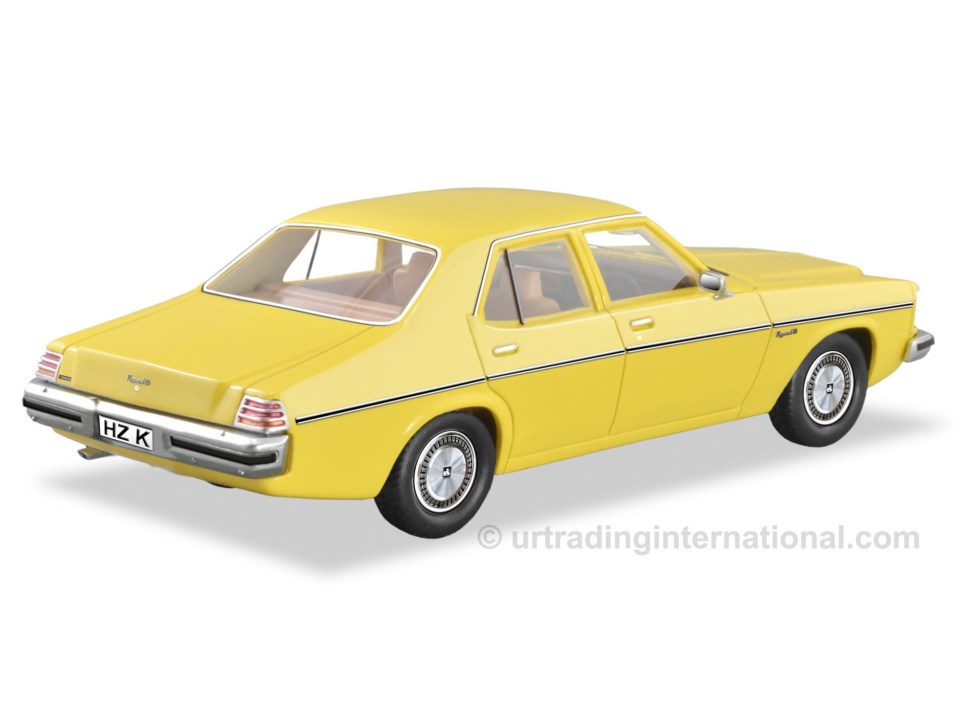 1977 HZ Kingswood SL Sedan  – Jasmine Yellow