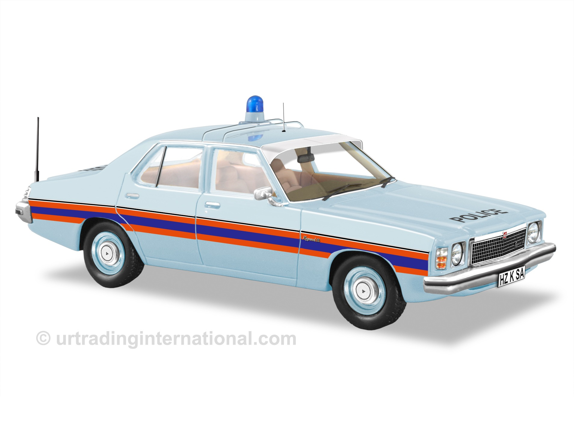 1977 HZ Kingswood SA Police Car
