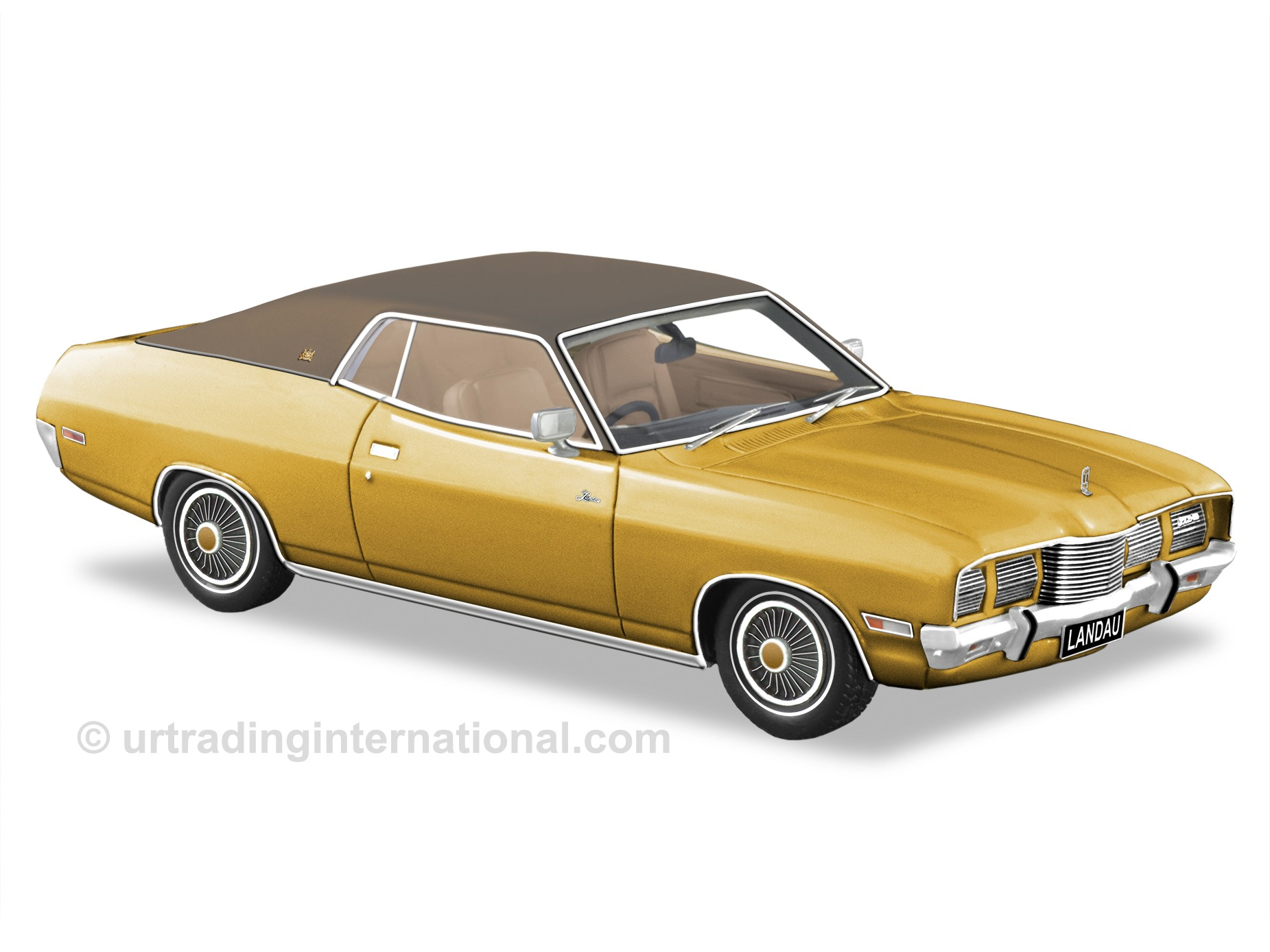1975 Ford Landau – Tropic Gold.