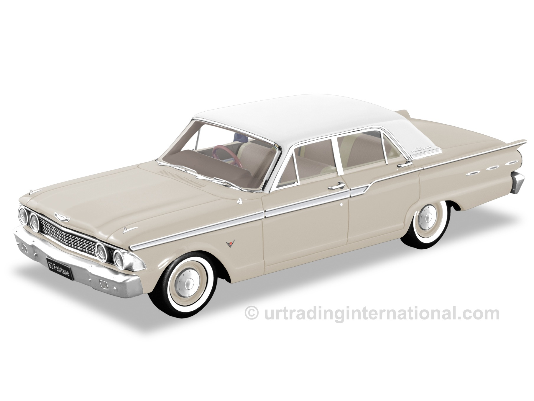 1962 Ford Fairlane Compact – Sandshell Beige.