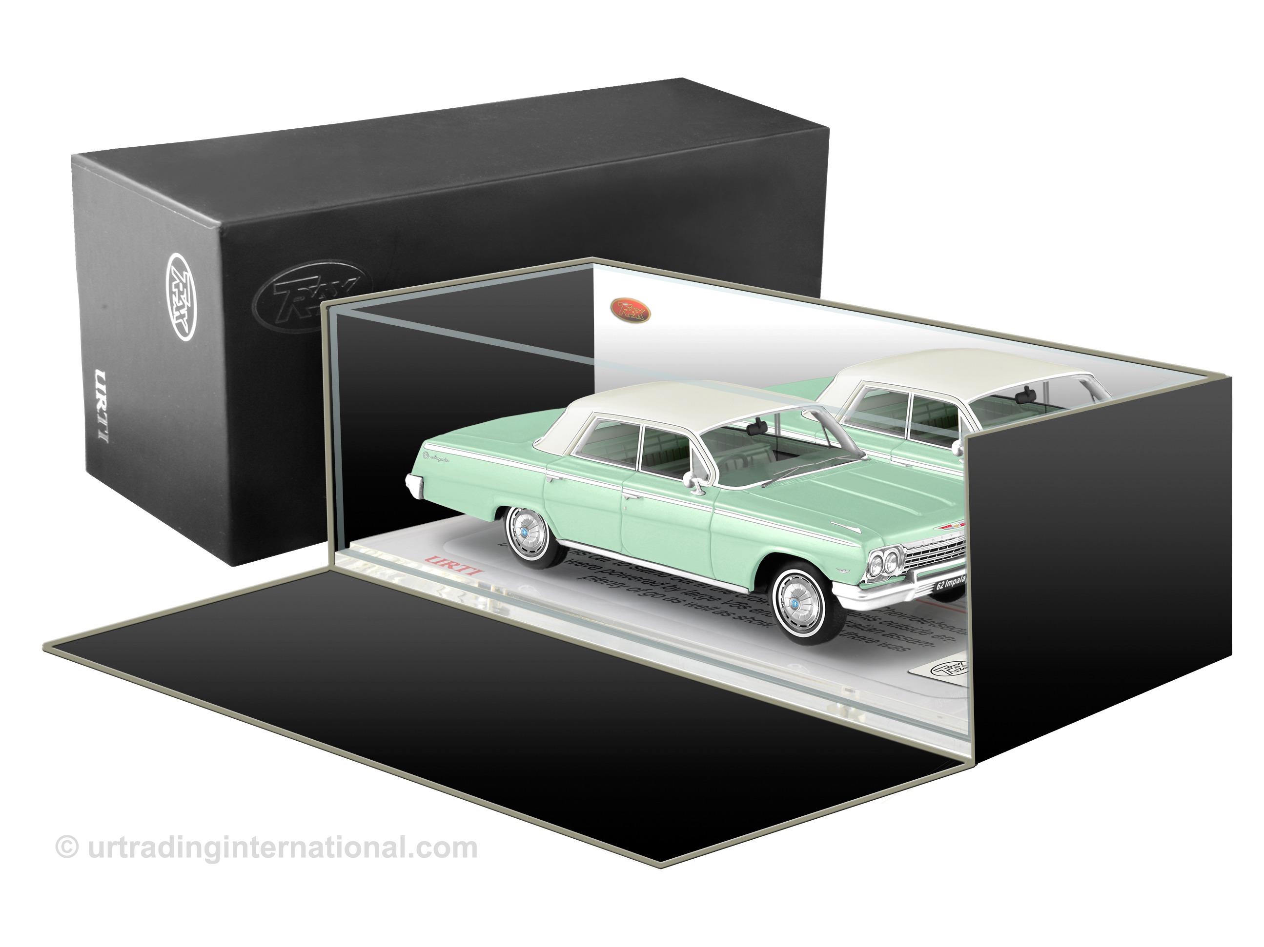1962 Chevrolet Impala Hardtop – Surf Green.