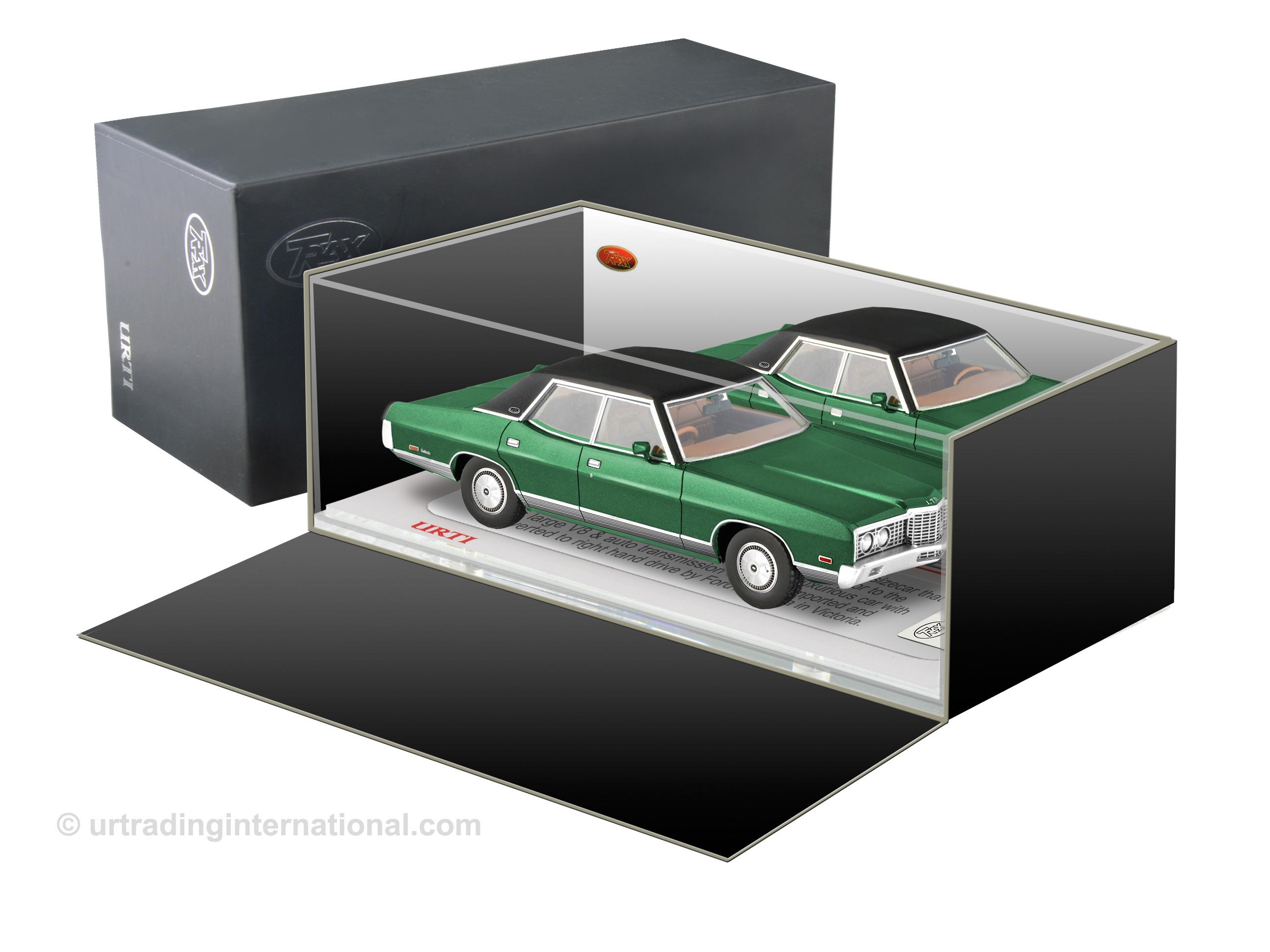 1972 Ford Galaxie LTD – Calypso Green.