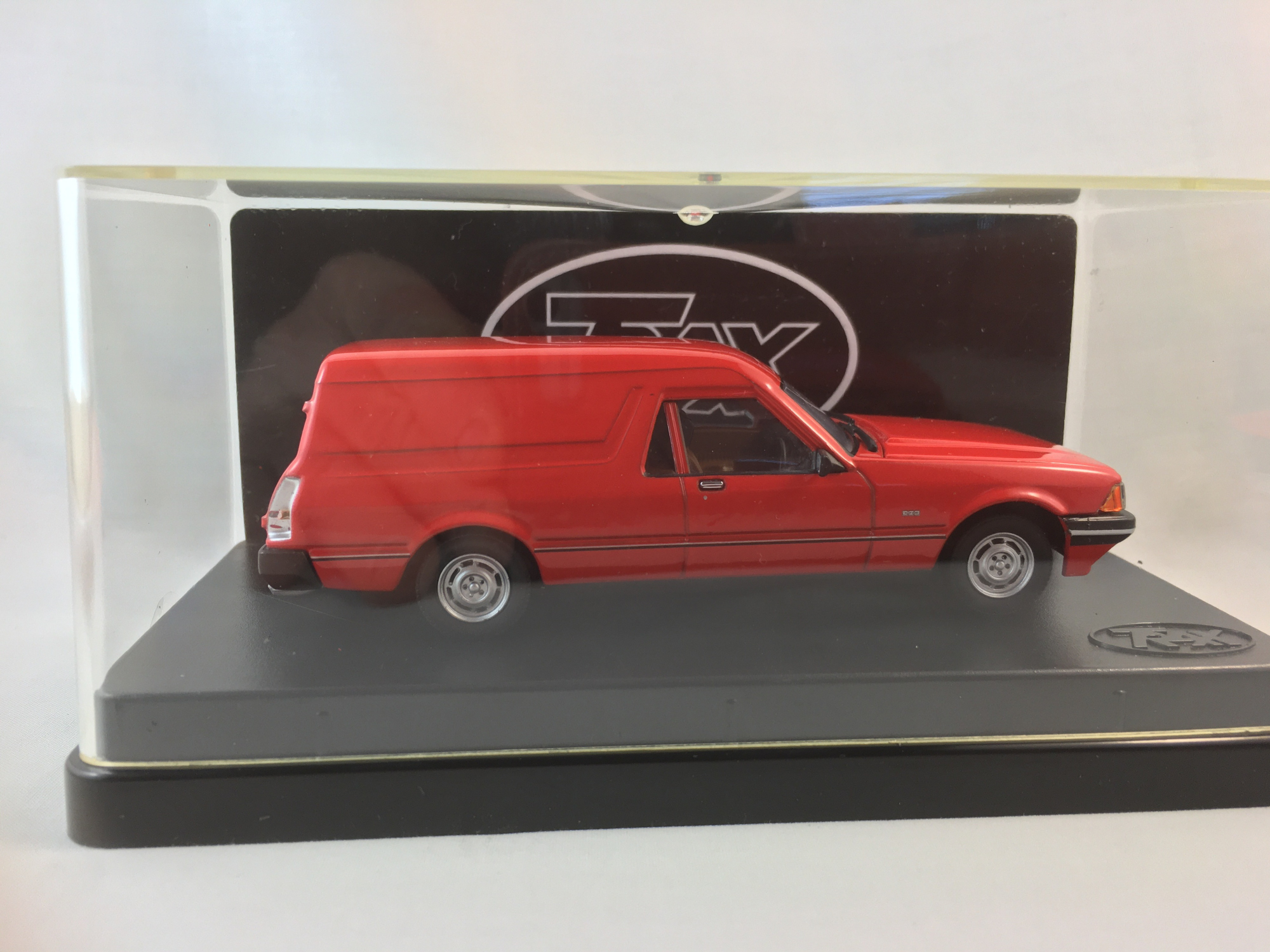 1979 Ford Falcon XD Panel Van – Monza Red