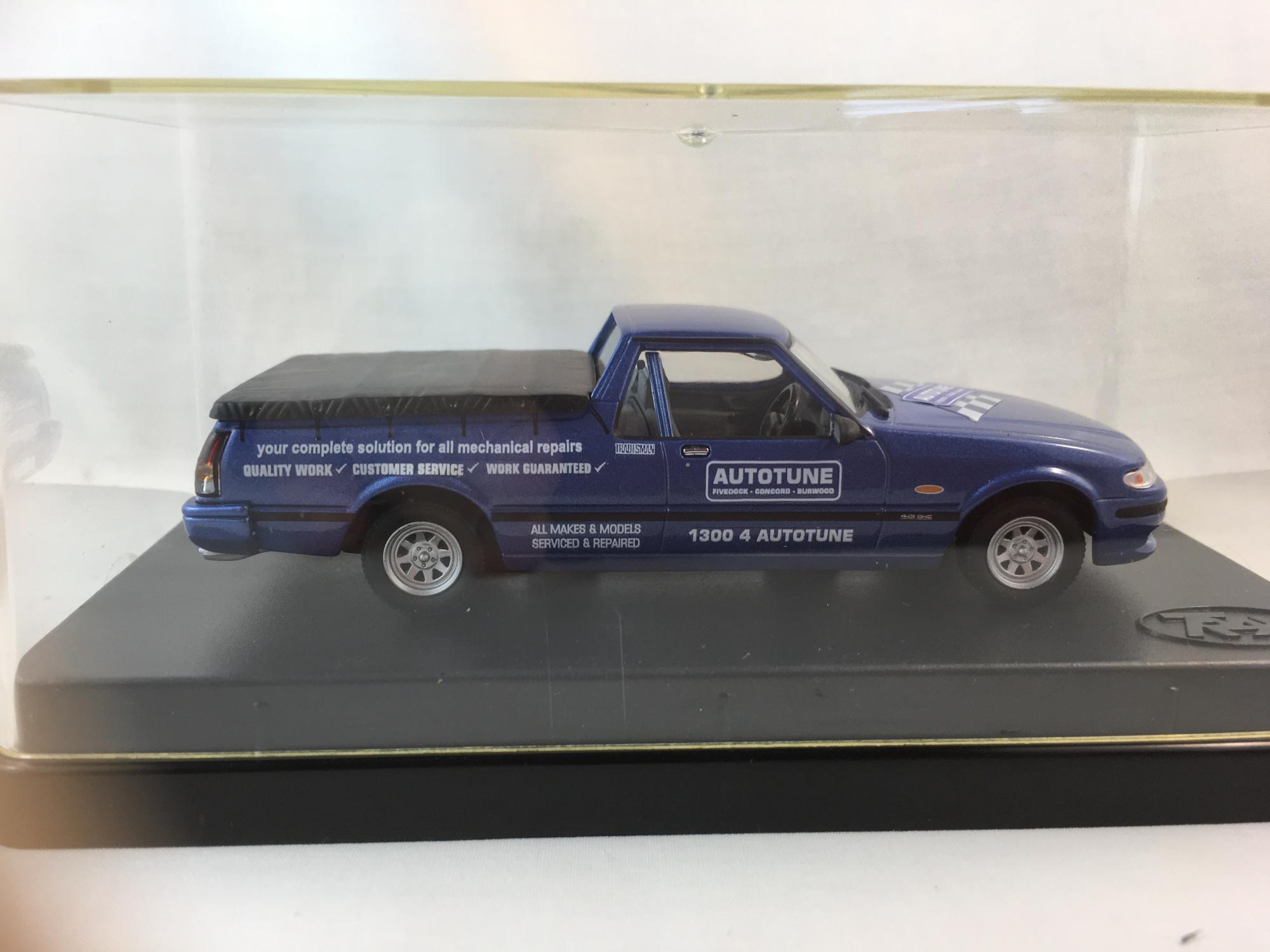 1996 Ford Falcon XH Utility – Mauritius Blue – Autotune Deco